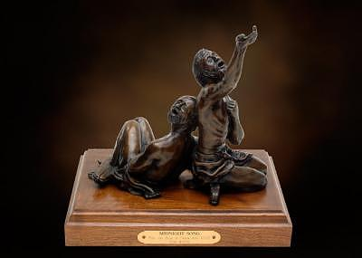 Christian Sculptures Sculpture - Midnight Song by Tom White