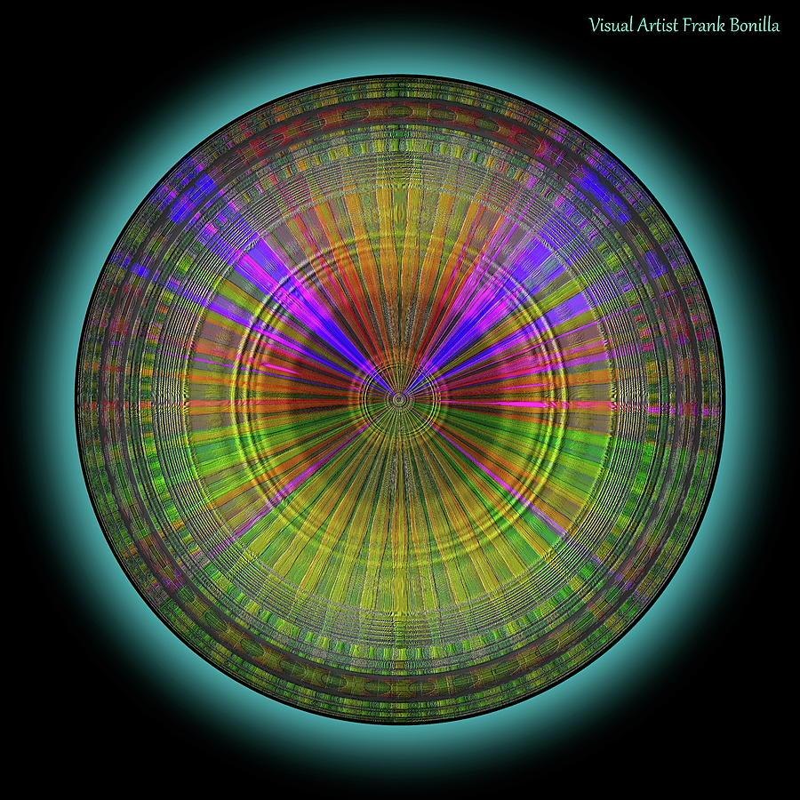 Midnight Digital Art - Midnight Sunset by Frank Bonilla