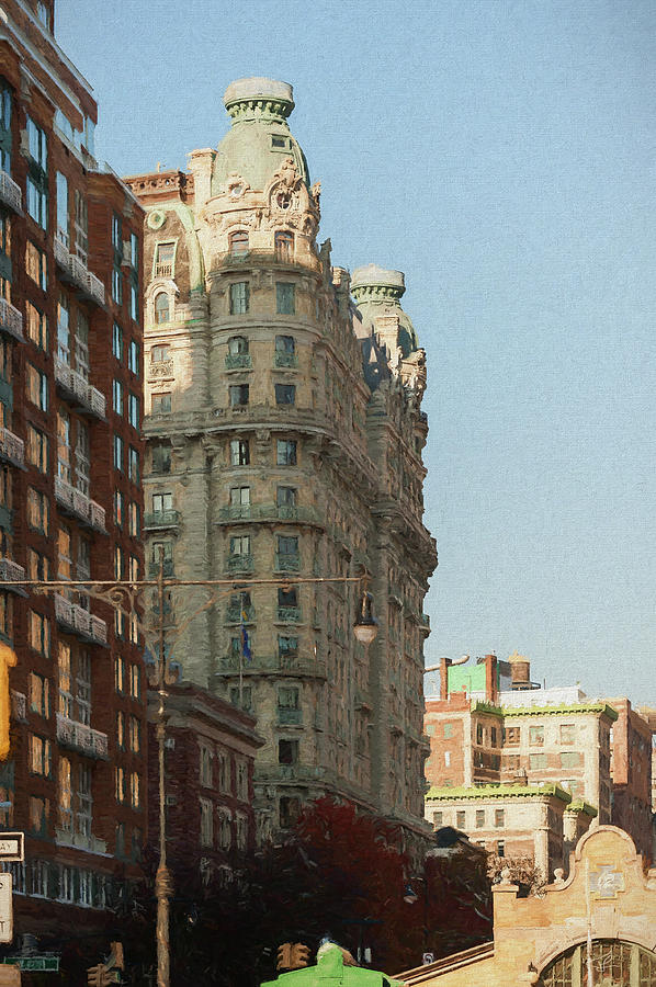 Midtown Manhattan Apartments Painting By Thomas Logan