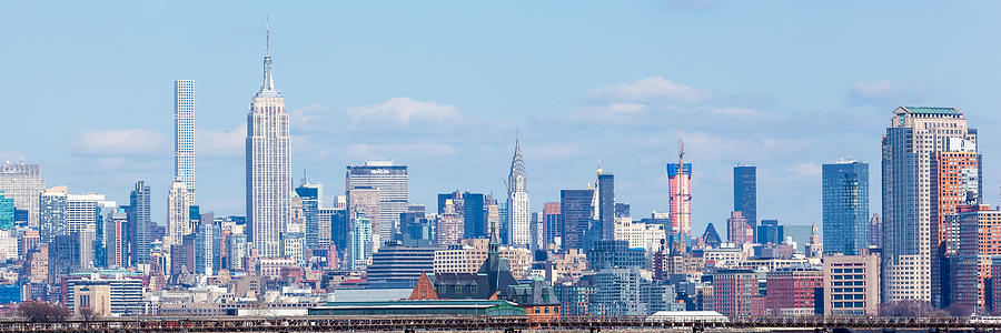 432 Park Photograph - Midtown Manhattan Skyline by Erin Cadigan