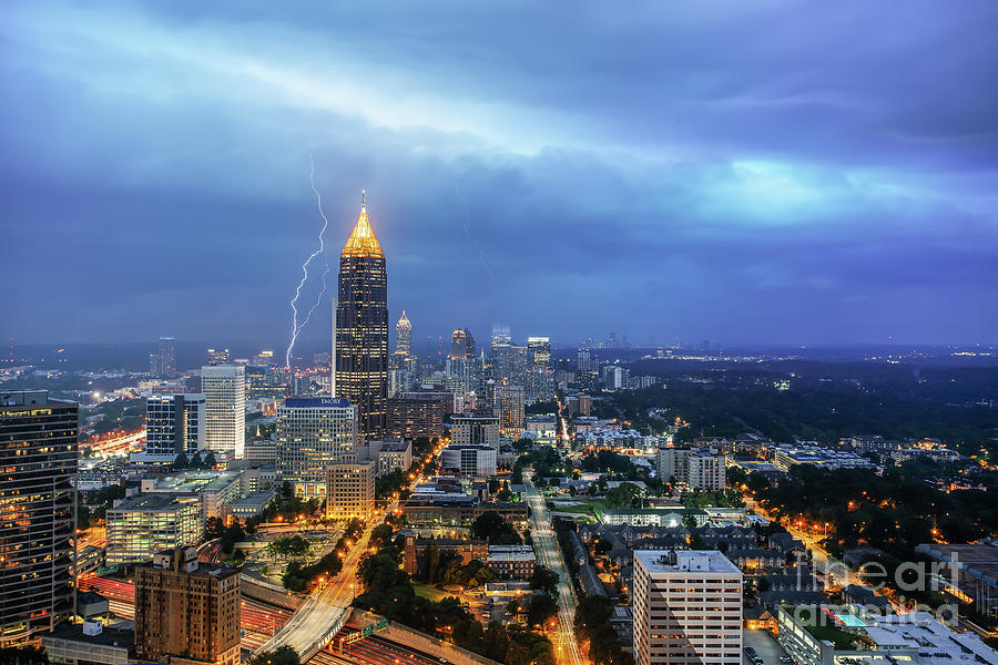 Midtown Storm Front by Stephen McDowell