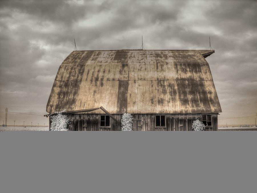 Barn Photograph - Midwestern Barn by Jane Linders