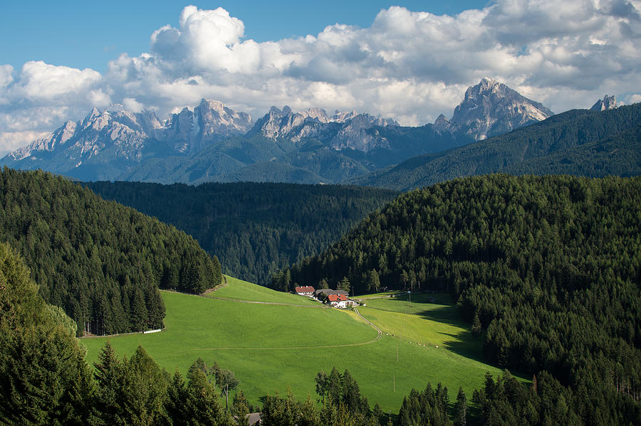 Italy Photograph - Mighty Dolomites Of Italy by Wim Slootweg