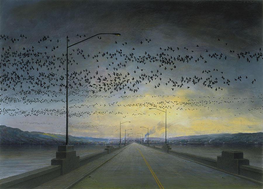 Landscape Print - Migration by Rob Evans