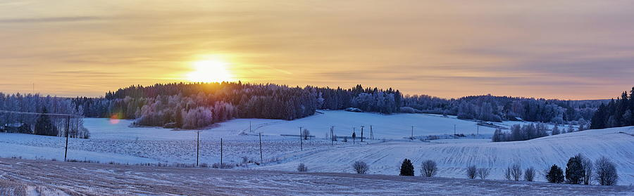 Finland Photograph - Mihari Sunset by Jouko Lehto
