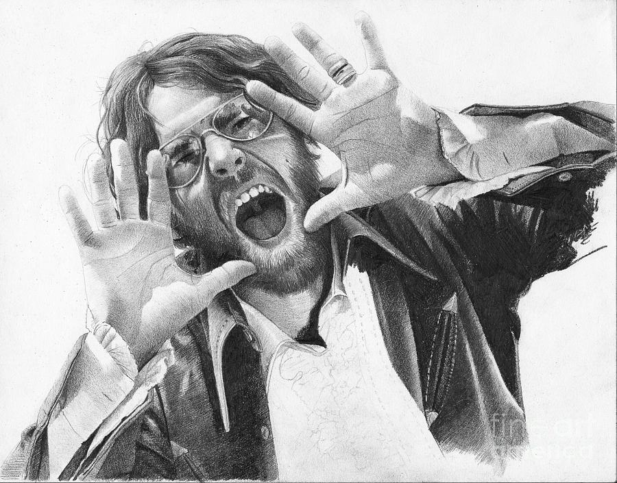 Vanderpool Drawing - Mike Musick by David Vanderpool