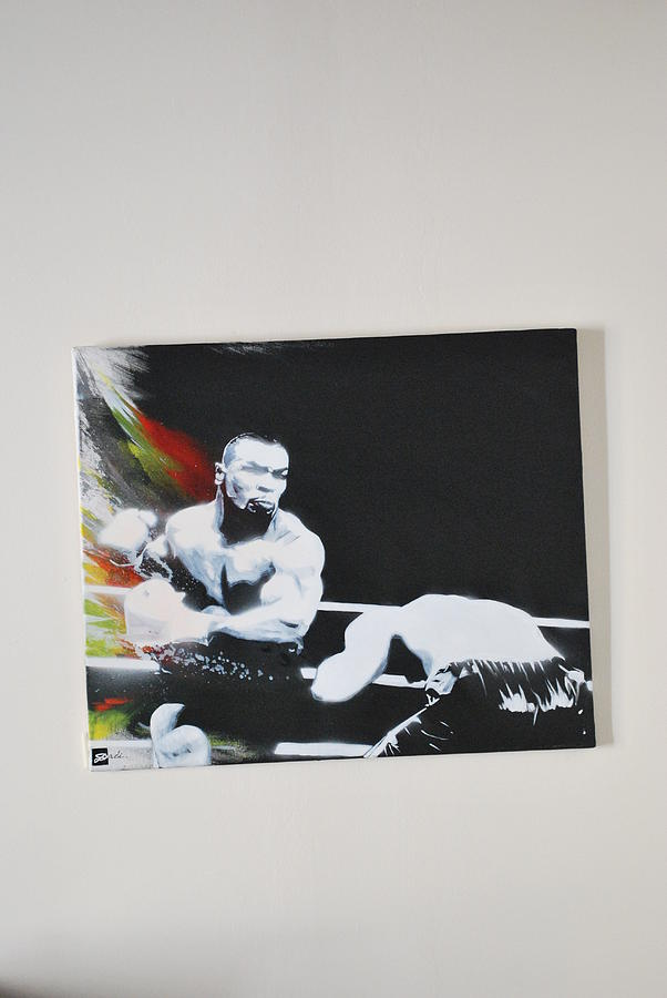 Mike Tyson The Beast Painting by Dadi Artist