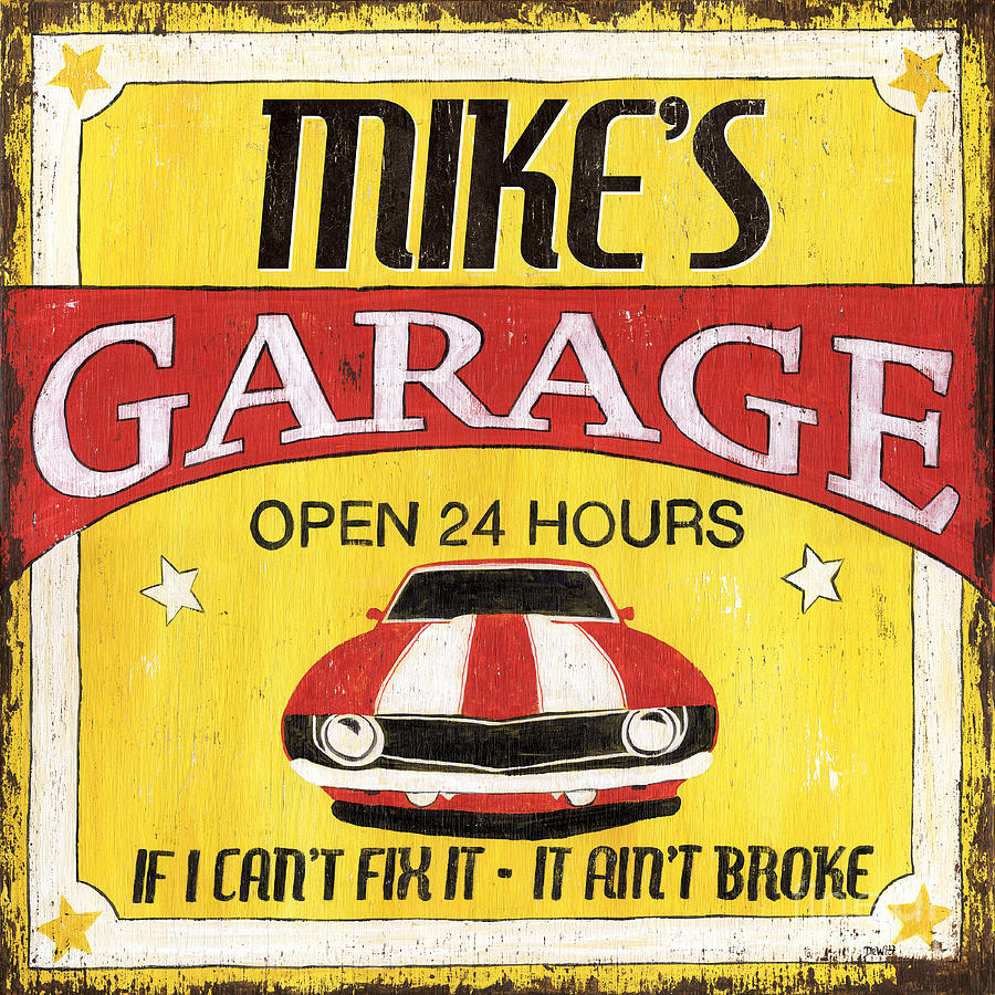 Mikes Garage Painting