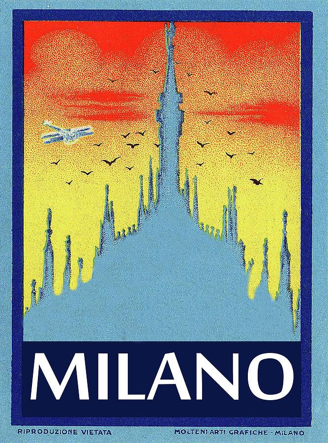 Milan Cathedral Painting - Milan Cathedral, Italy by Long Shot