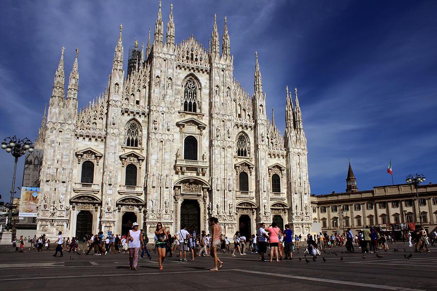 Milan Photograph - Milan Cathedral by Milan Mirkovic