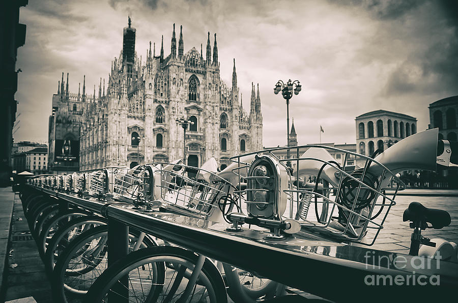 Milan Photograph - Milan Metropolitan City by Alessandro Giorgi Art Photography