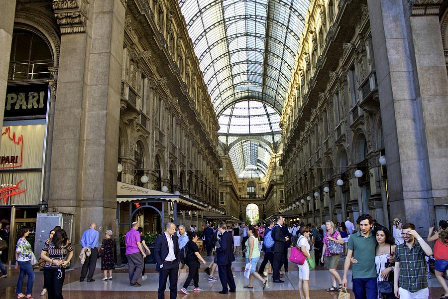 Milan Shopping Mall Photograph by Milan Mirkovic