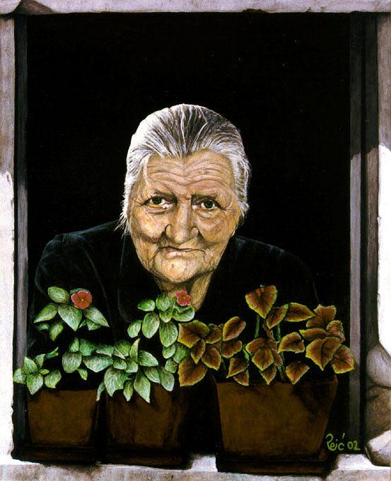 Original Painting - Mildness  by Branko Reic