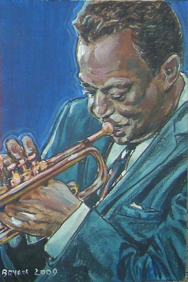 Miles Davis Painting - Miles Davis by Bryan Bustard