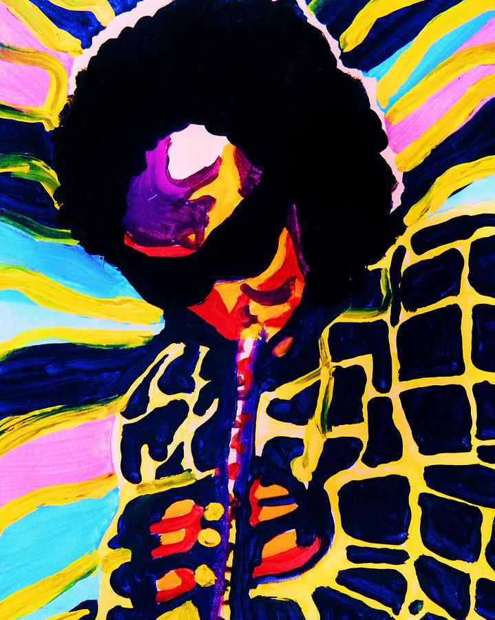 Miles Davis Painting - Miles Davis by Gayland Morris