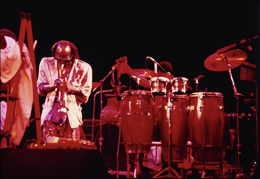 Miles Davis Photograph - Miles Davis Image 7 by Derek Moore