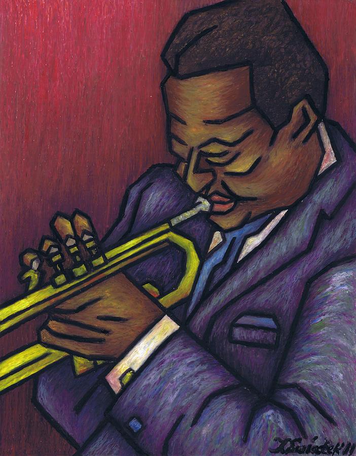 Miles Davis Painting - Miles Davis by Kamil Swiatek