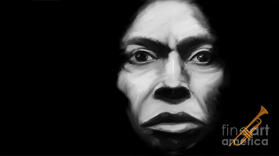 Miles Davis Tutu by Jan Brons