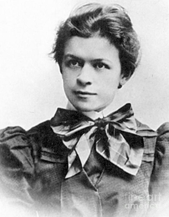 19th Century Photograph - Mileva Maric (1875-1948) by Granger