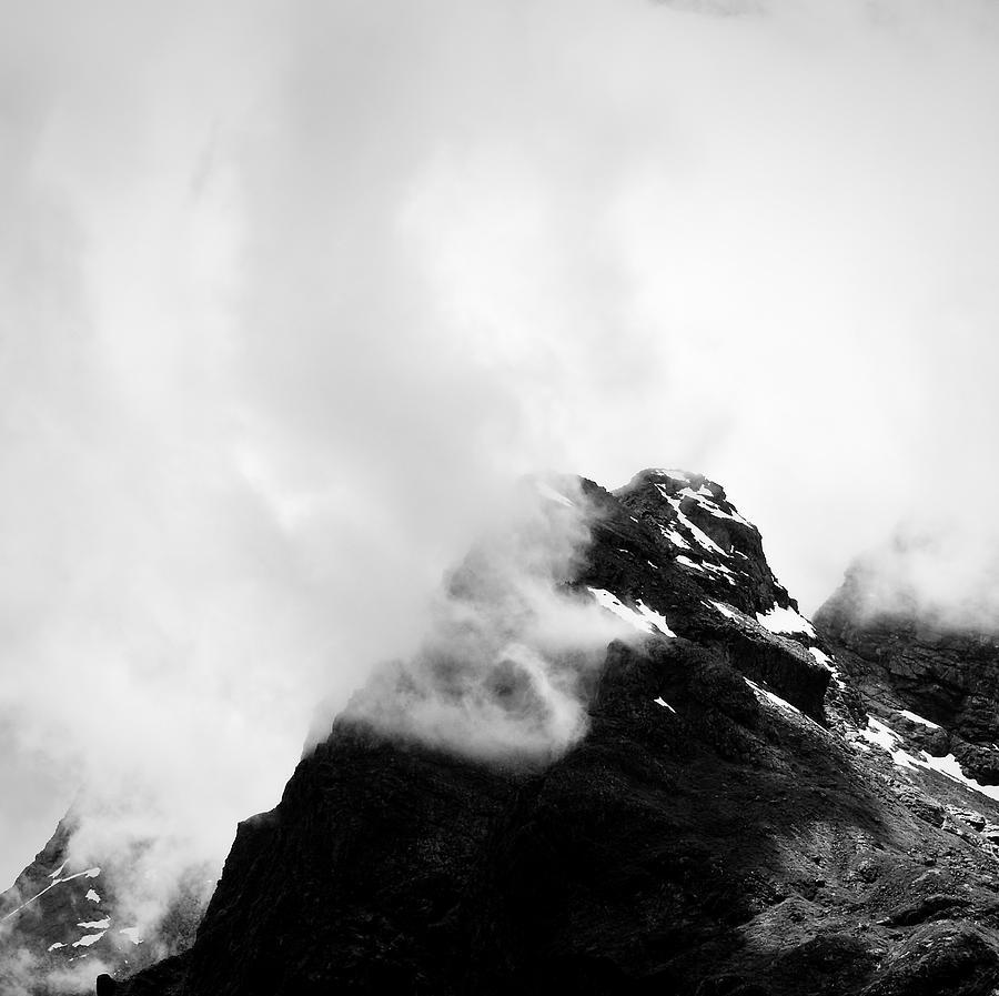 Mountain Photograph - Milford 7 by Mihai Florea