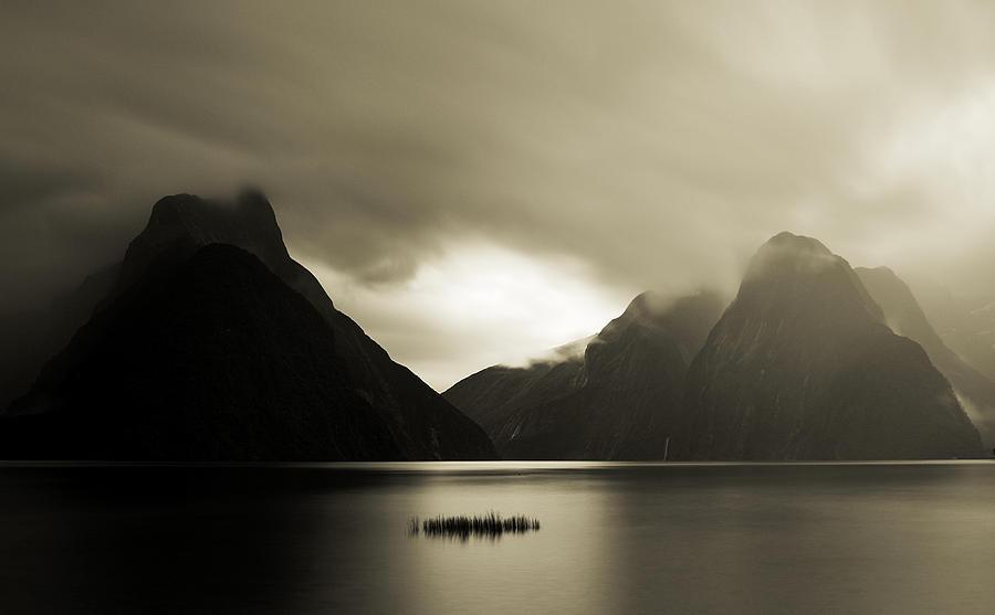 Seascape Photograph - Milford Sound 1 by Mihai Florea