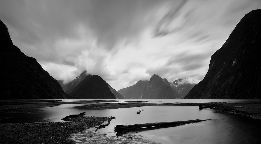 New Zealand Photograph - Milford Sound 3 by Mihai Florea