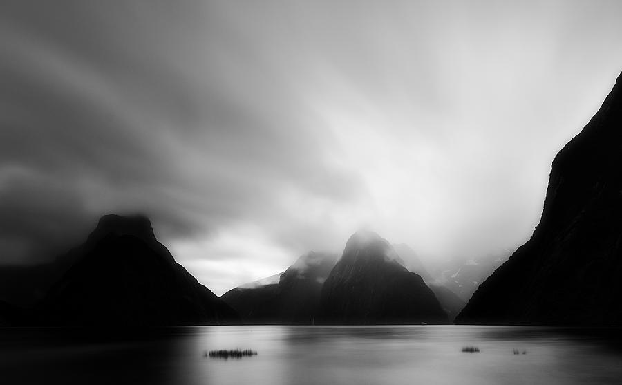 New Zealand Photograph - Milford Sound by Mihai Florea