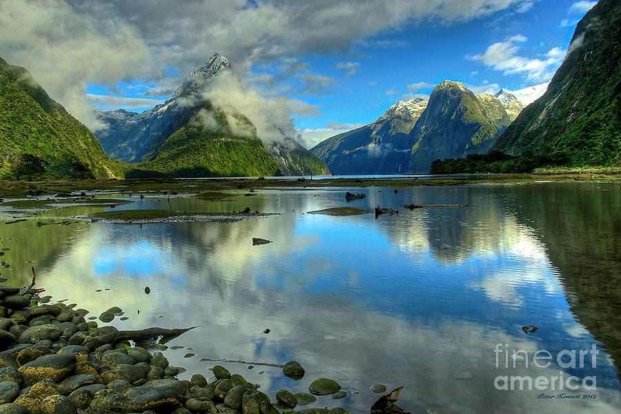 Milford Sound by Peter Kennett