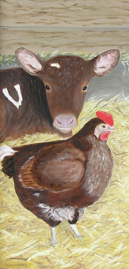 Milk and Eggs by Barb Pennypacker