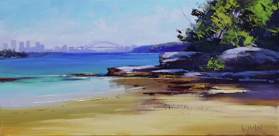 Milk Beach Sydney Painting
