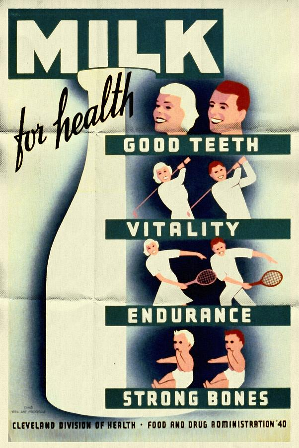 Image result for vintage milk ads