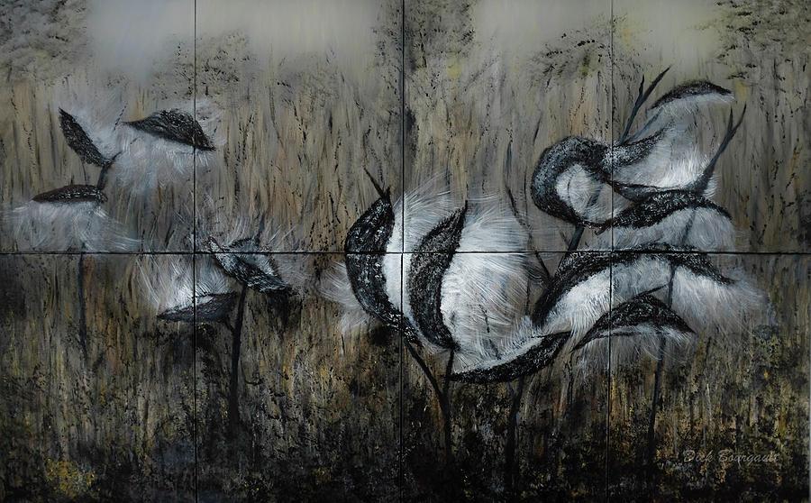 Milkweed Painting - Milkweed by Dick Bourgault