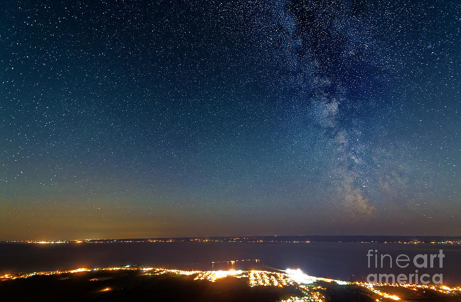 Carleton Photograph - Milky Way Above Carleton In Quebec by Colin Woods