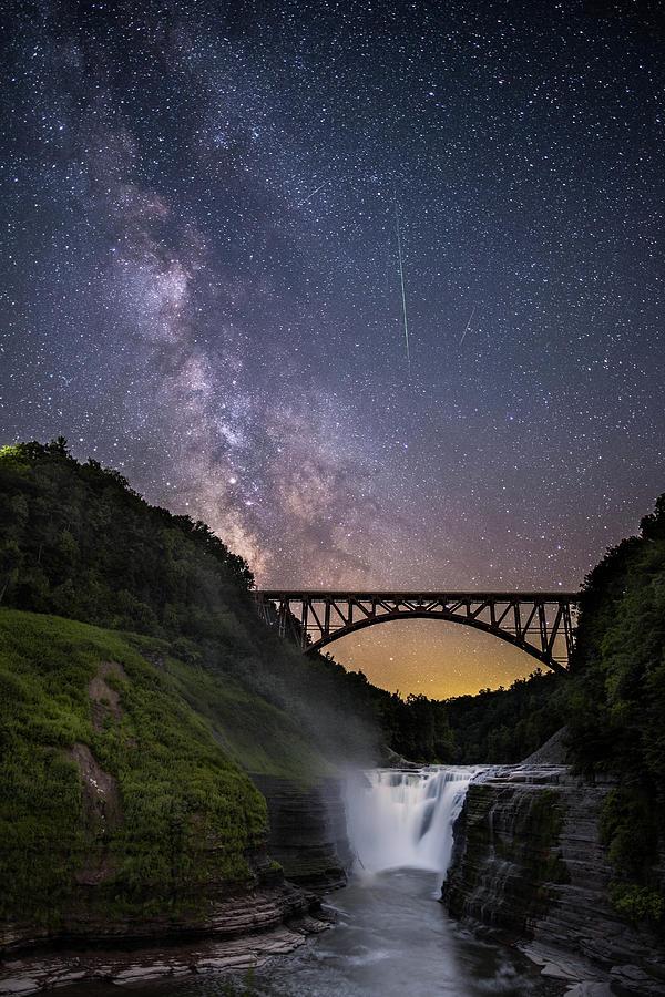 Milky-way at Letchworth by Guy Coniglio