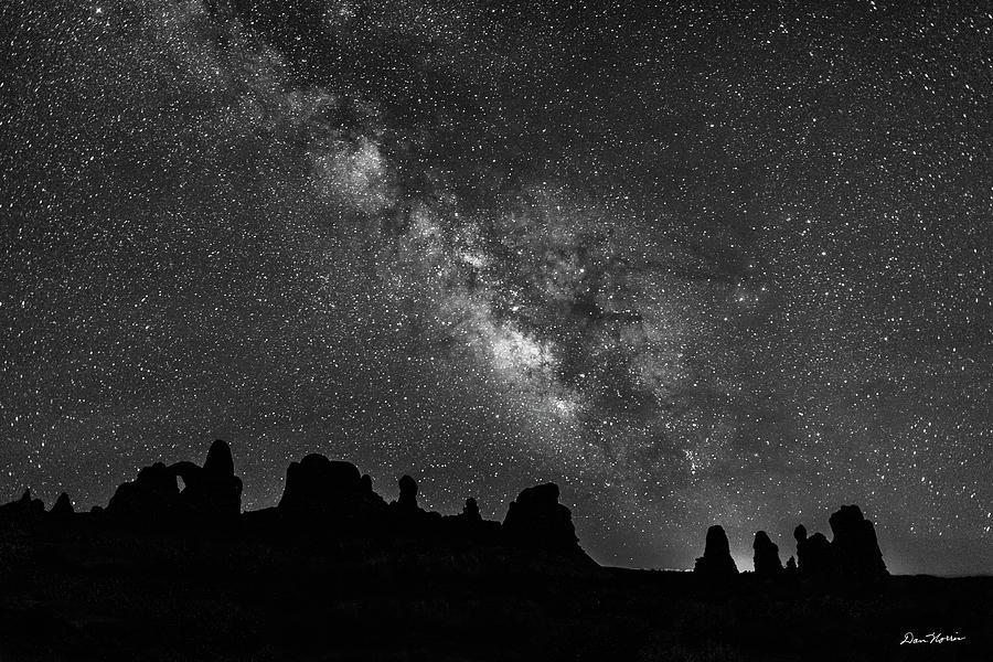 Milky Way at The Windows by Dan Norris