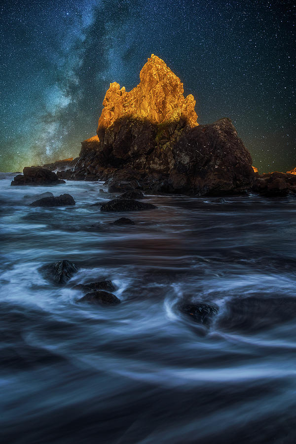 Milky Way Cove Photograph