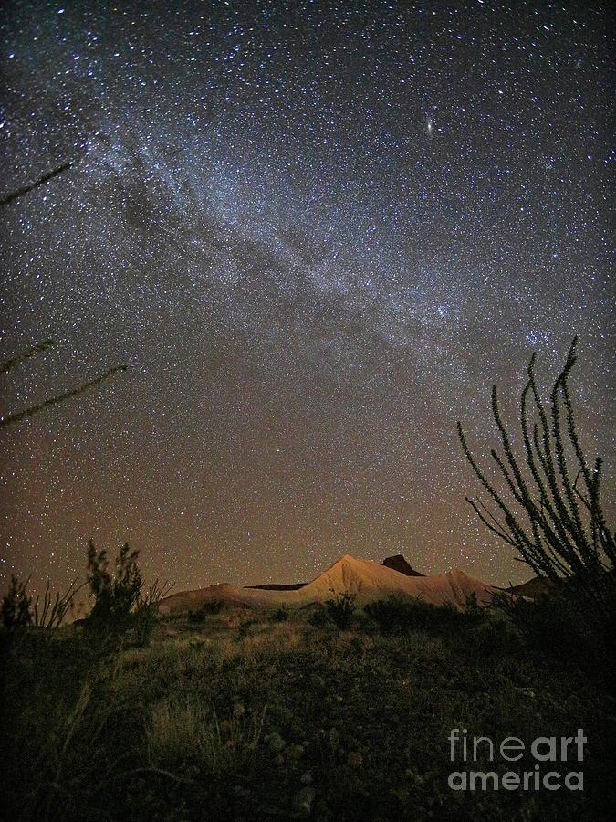 Milky Way Desert Sky by Martin Konopacki