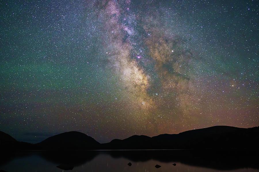 2017 Photograph - Milky Way Eagle Lake by Natalie Rotman Cote