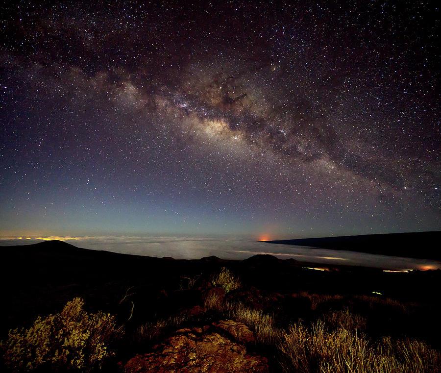 Mauna Kea Photograph - Milky Way from Mauna Kea by Christopher Johnson
