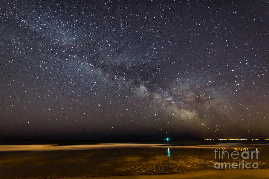Milky Way From Ocean Park Maine by Patrick Fennell