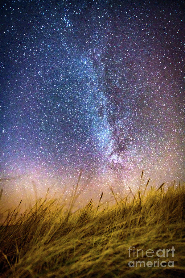 Milky Way from the Dutch Dunes by Alex Hiemstra
