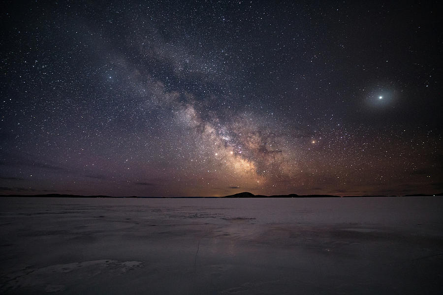 Astrophotography Photograph - Milky Way In March, Sturgeon Bay by Jakub Sisak