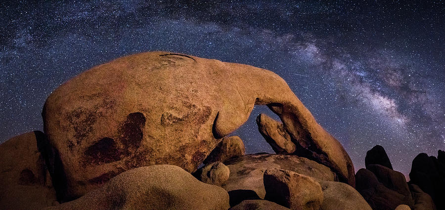 Milky Way Over Arch Rock by James Capo