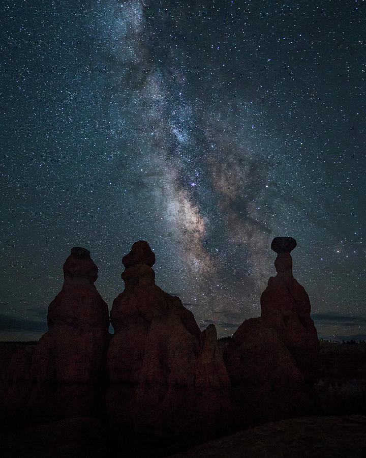 Milky Way Over Bryce Canyon Photograph