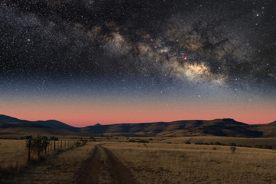 Milky Way Over Texas by Larry Landolfi