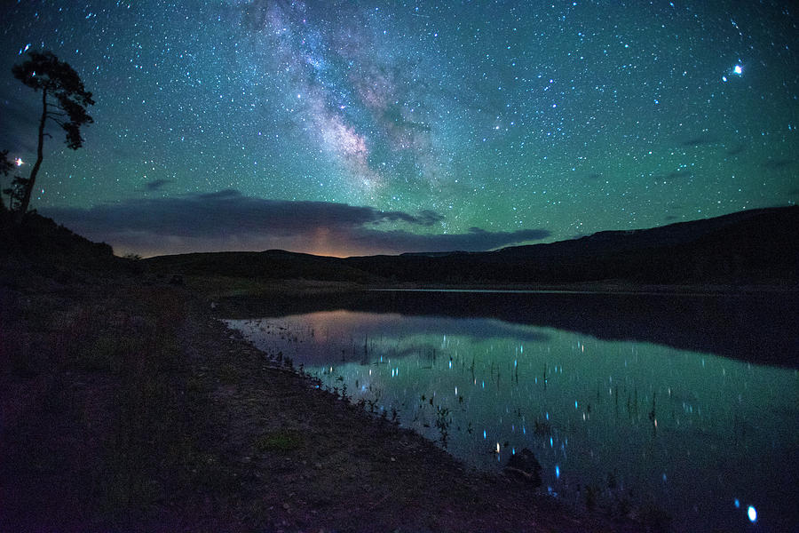 Milky Way Reflections by Jay Anne Boza