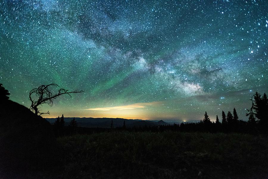 Milky Way Rising by Jay Anne Boza