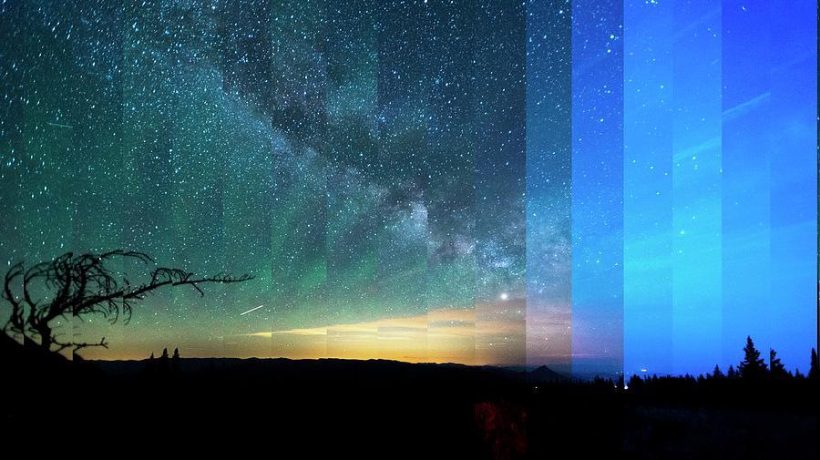 Milky Way Time Slice by Jay Anne Boza