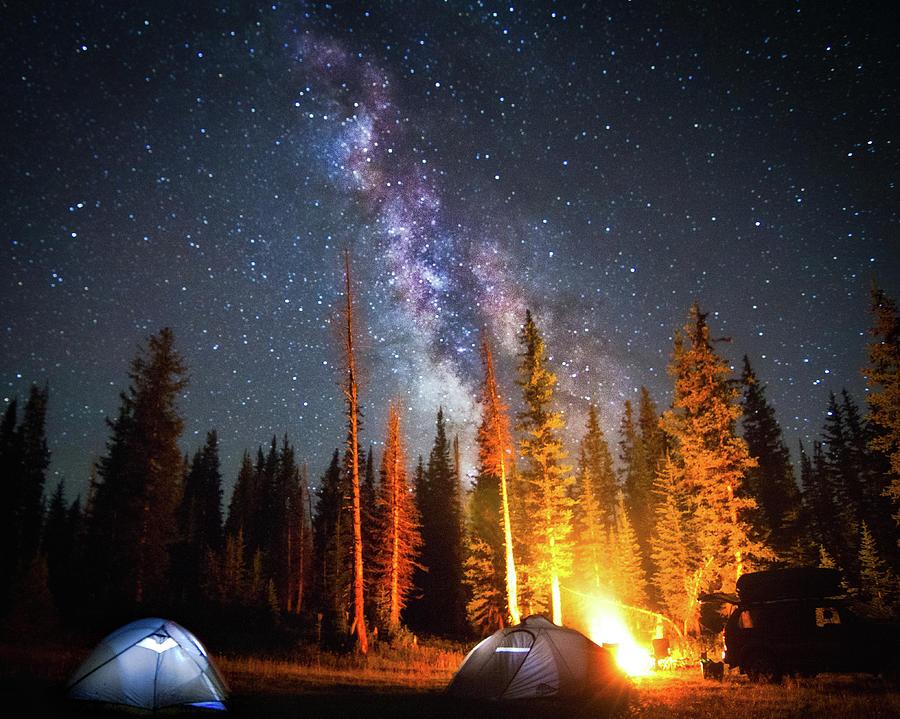 Horizontal Photograph - Milky Way by William Church - Summit42.com