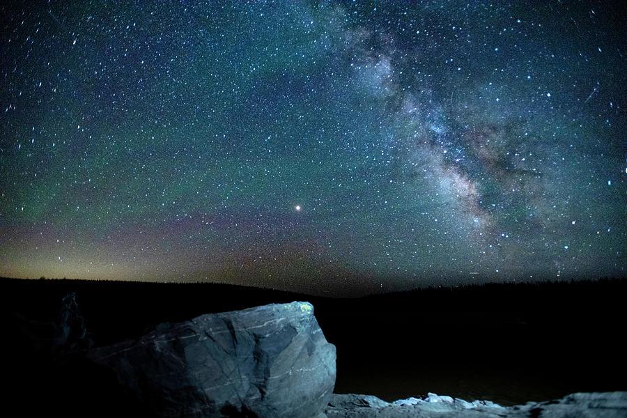 MilkyWay Mars Rock by Jay Anne Boza